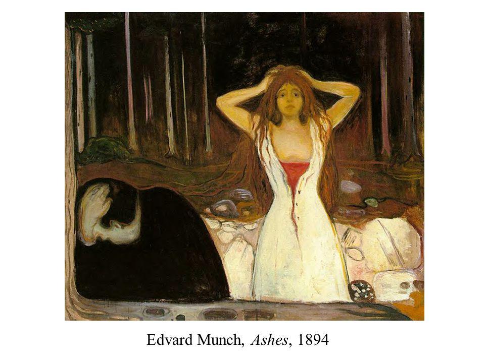 Edvard Munch, Ashes, 1894
