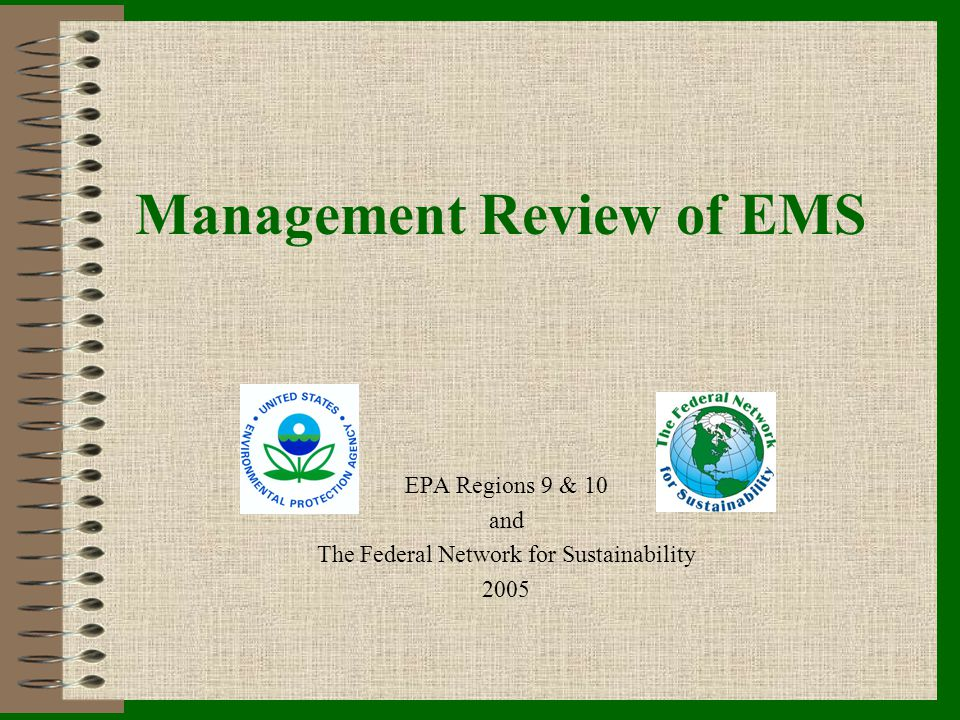 Management Review of EMS