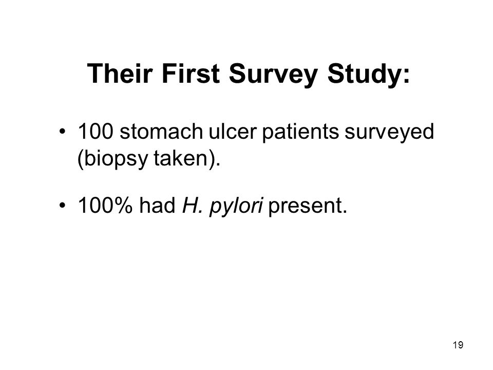 Their First Survey Study: