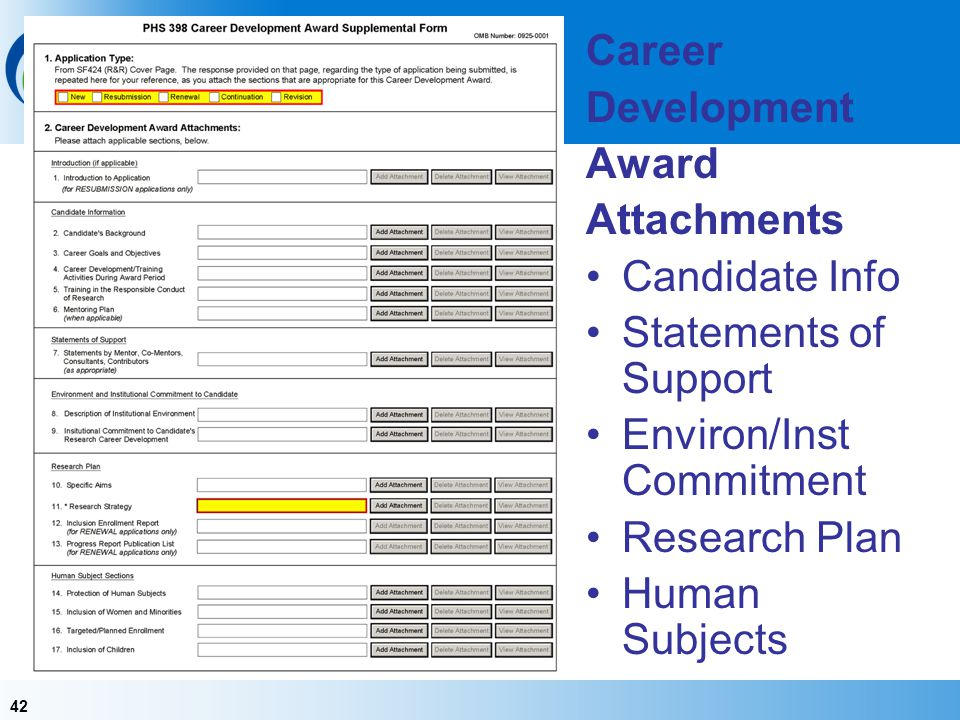 Environ/Inst Commitment Research Plan Human Subjects