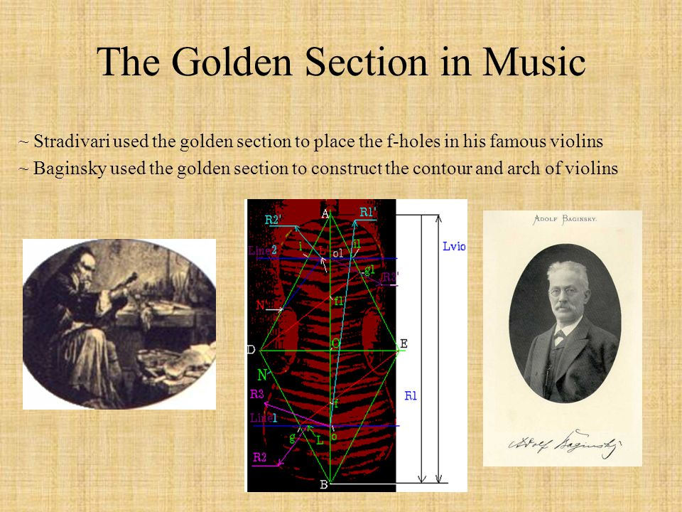 The Golden Section in Music