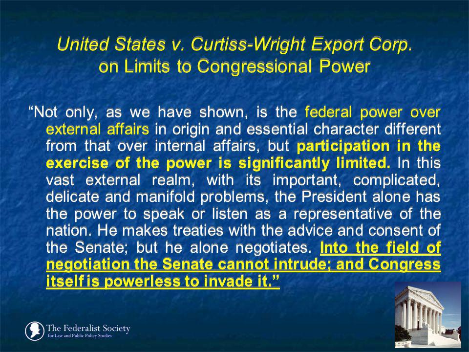 United States v. Curtiss-Wright Export Corp
