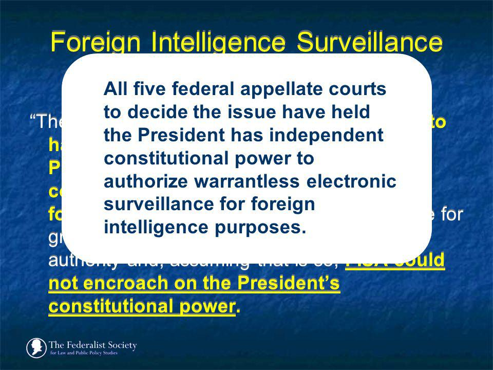 Foreign Intelligence Surveillance Court of Review (2002)