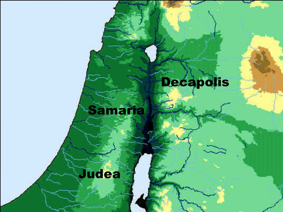 Decapolis Samaria Judea