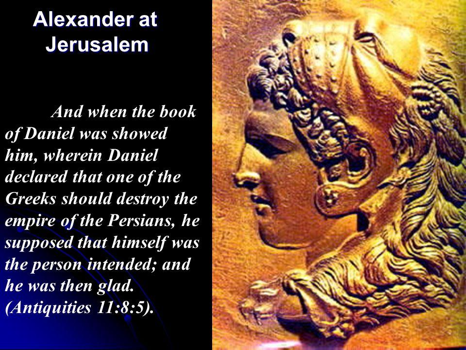 Alexander at Jerusalem