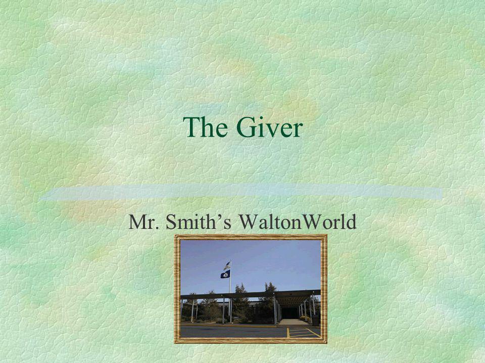 Mr. Smith's WaltonWorld