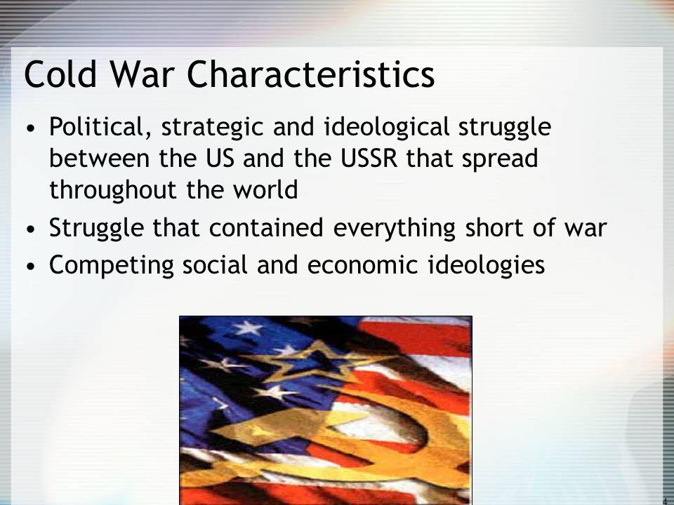 Cold War Characteristics