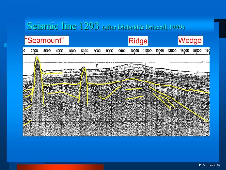 Seismic line 1293 (after Diebold & Driscoll, 1999)