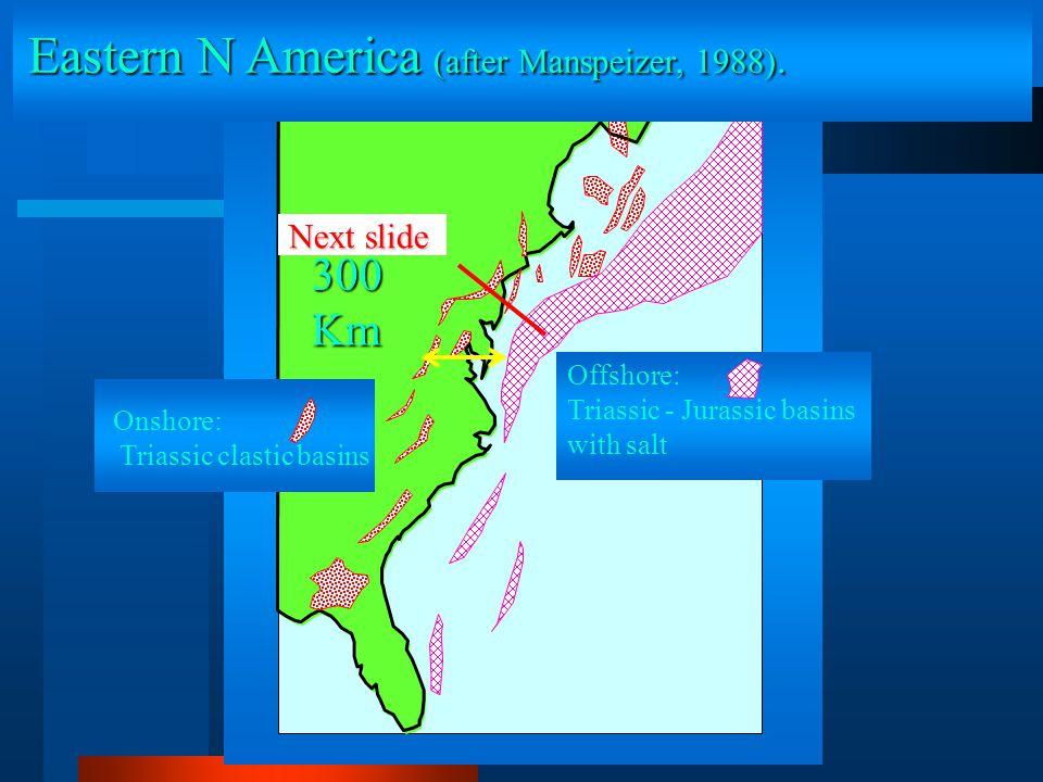 Eastern N America (after Manspeizer, 1988).