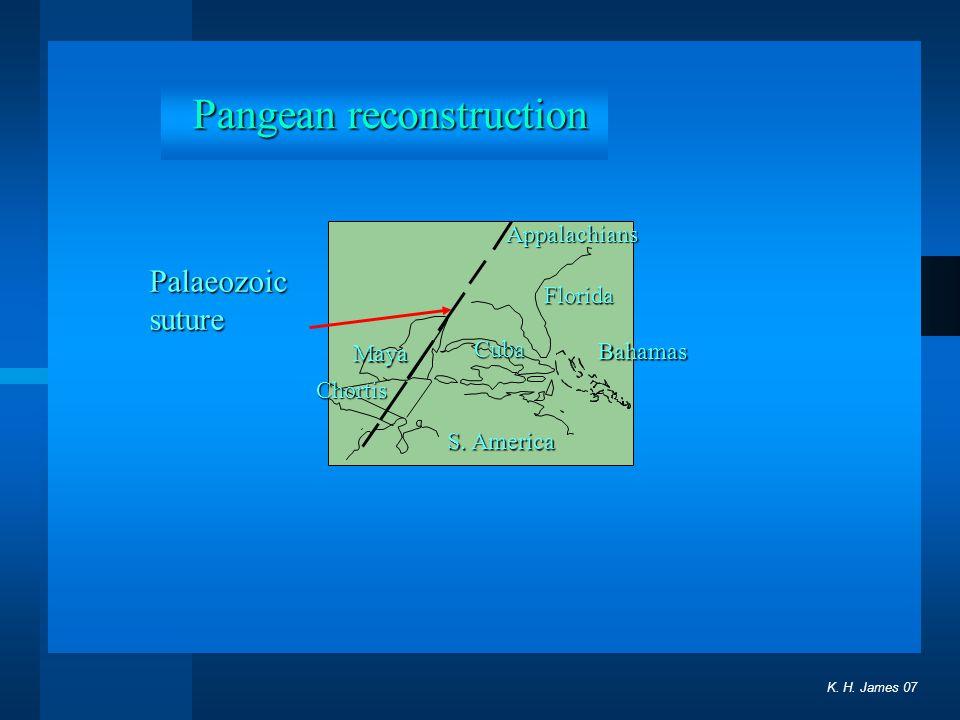 Pangean reconstruction