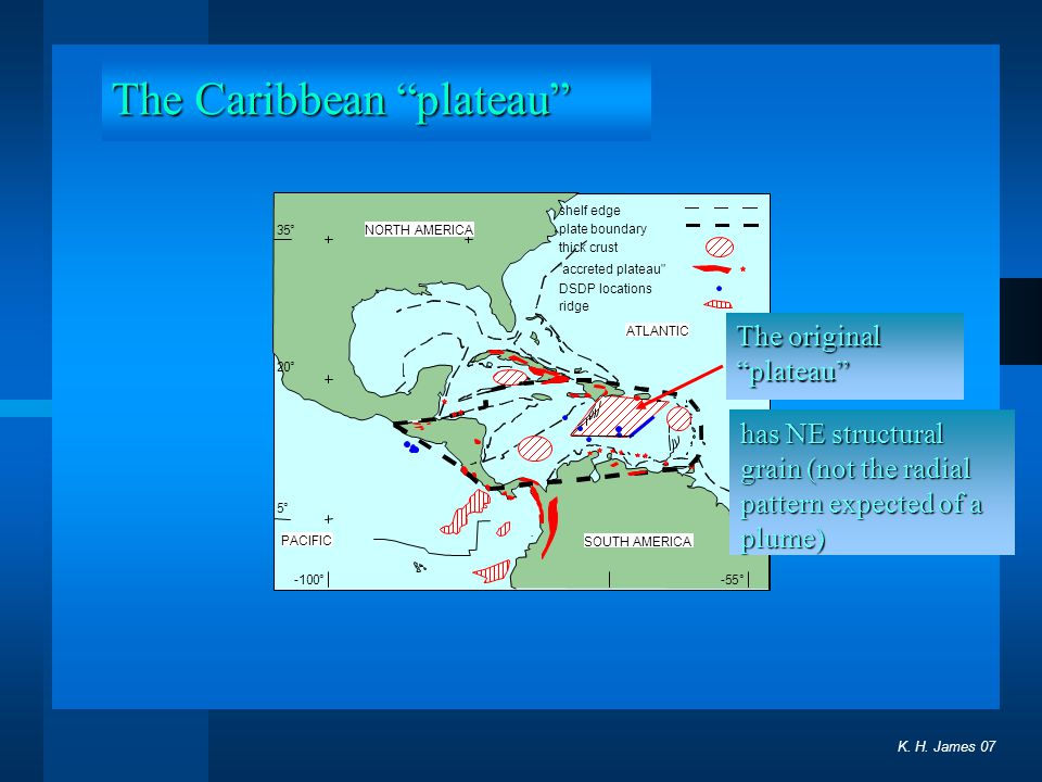 The Caribbean plateau
