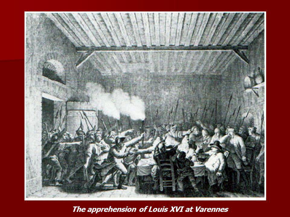 The apprehension of Louis XVI at Varennes
