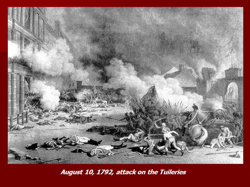 August 10, 1792, attack on the Tuileries