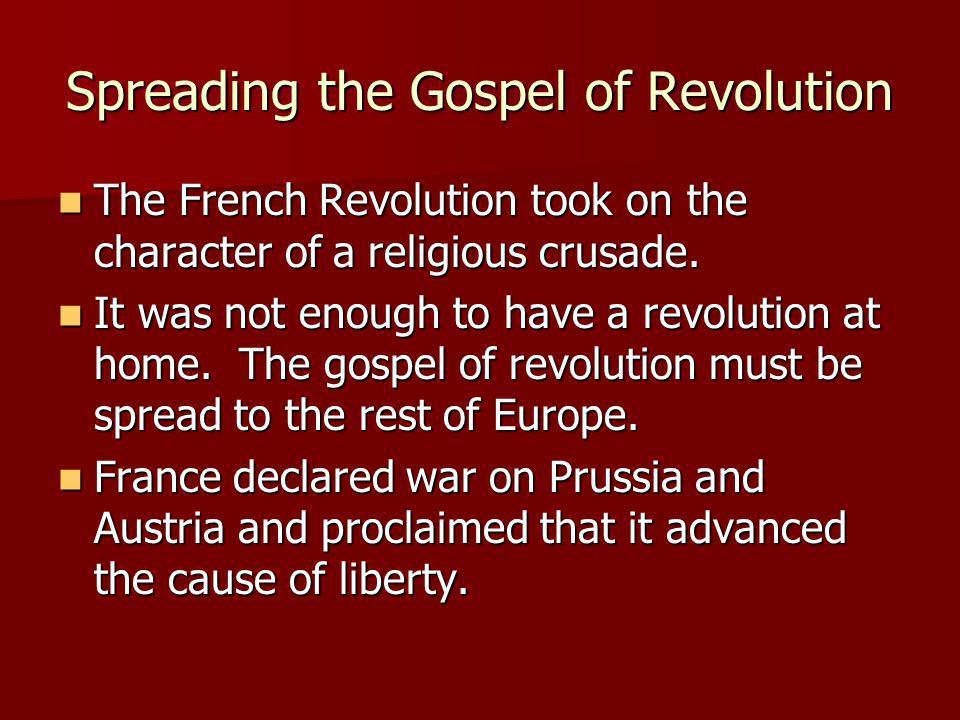 Spreading the Gospel of Revolution