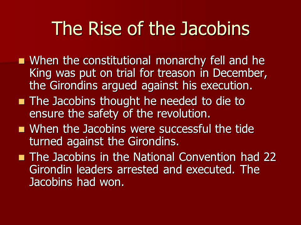 The Rise of the Jacobins