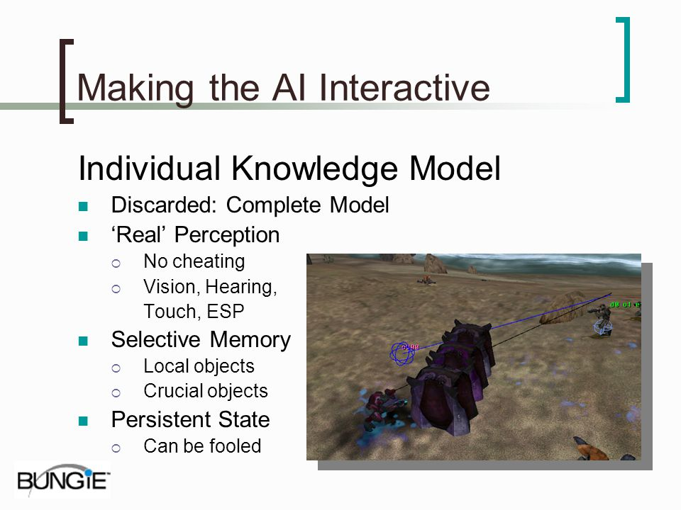 Making the AI Interactive