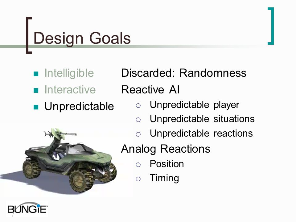 Design Goals Intelligible Interactive Unpredictable