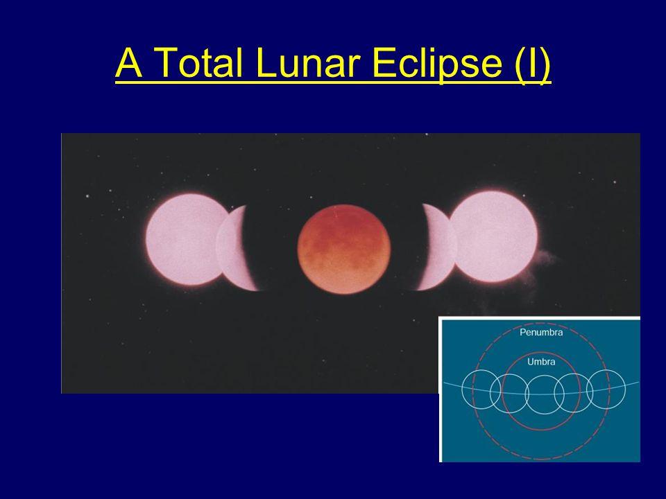A Total Lunar Eclipse (I)
