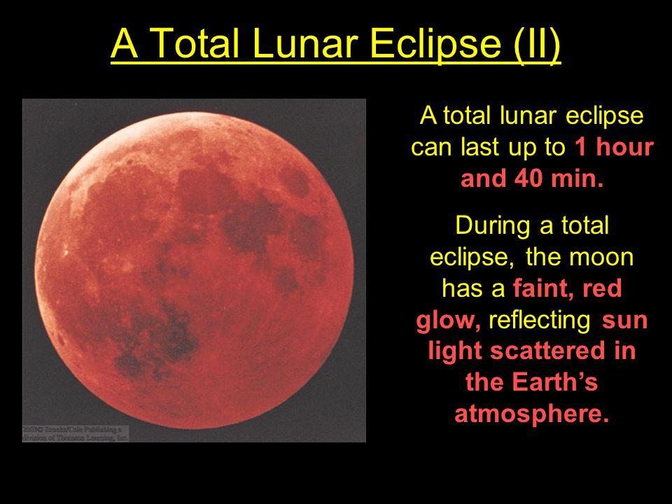 A Total Lunar Eclipse (II)