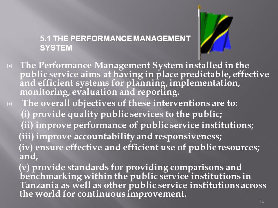 The overall objectives of these interventions are to: