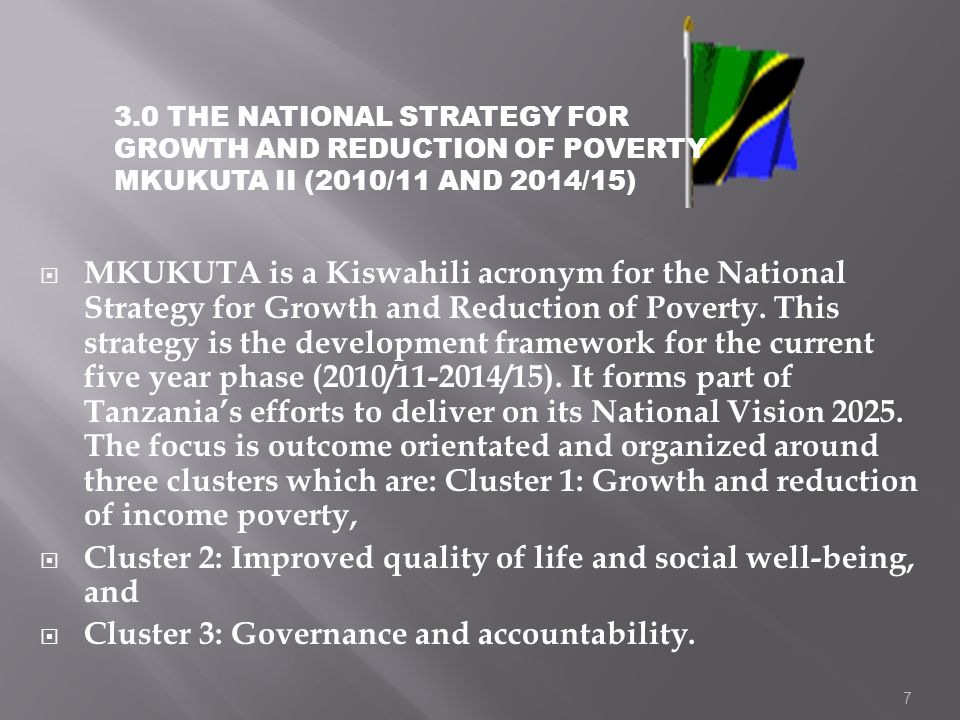 Cluster 2: Improved quality of life and social well-being, and