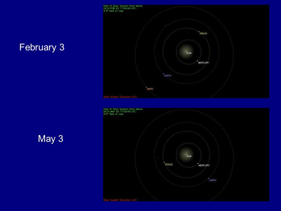 February 3 May 3