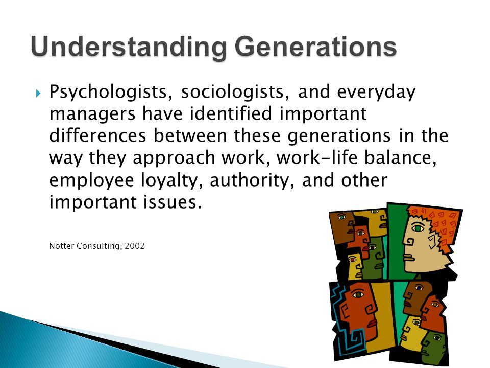 Understanding Generations