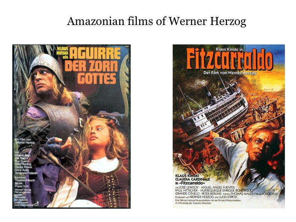 Amazonian films of Werner Herzog