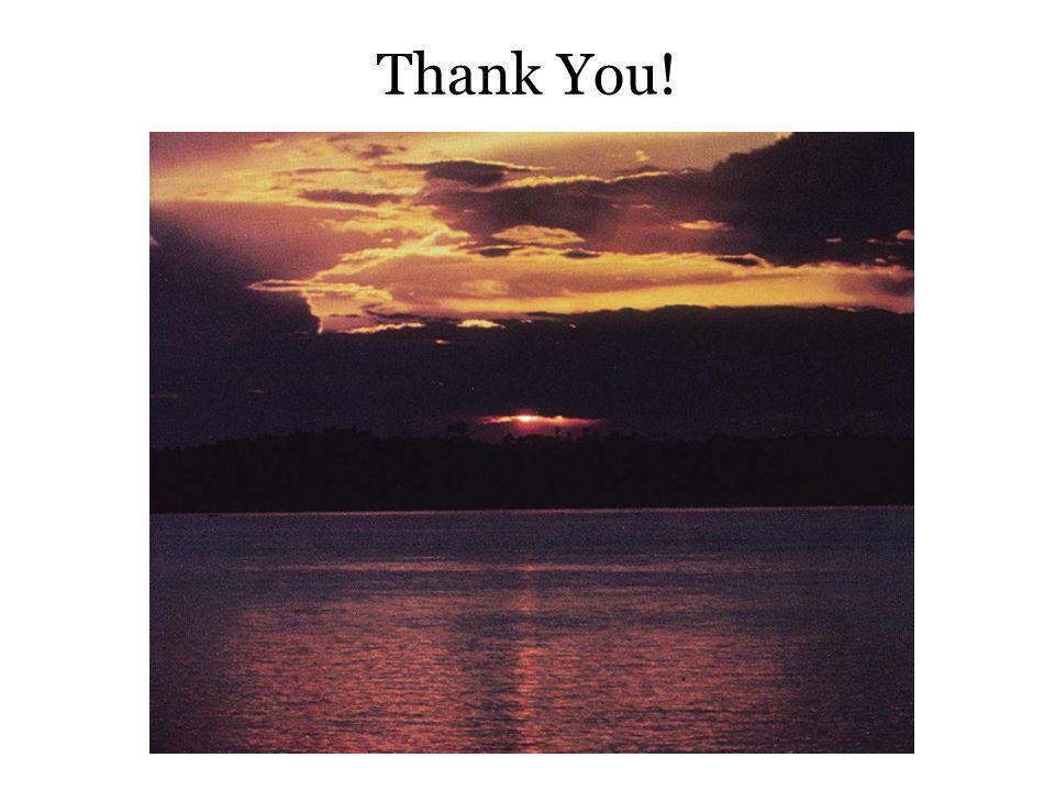 Thank You! Thank you…