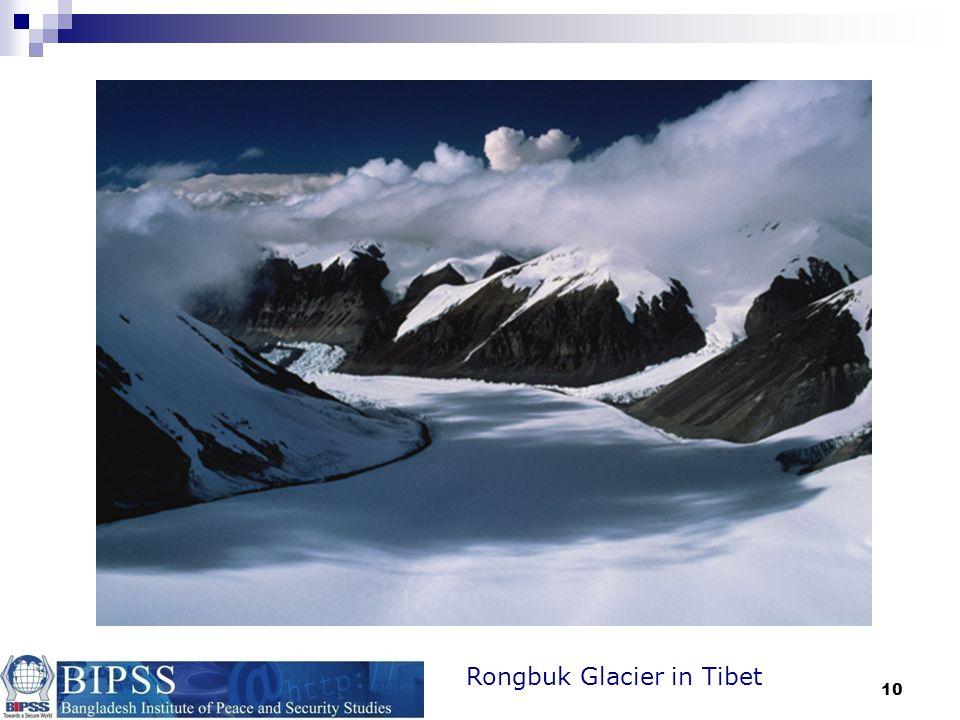Rongbuk Glacier in Tibet