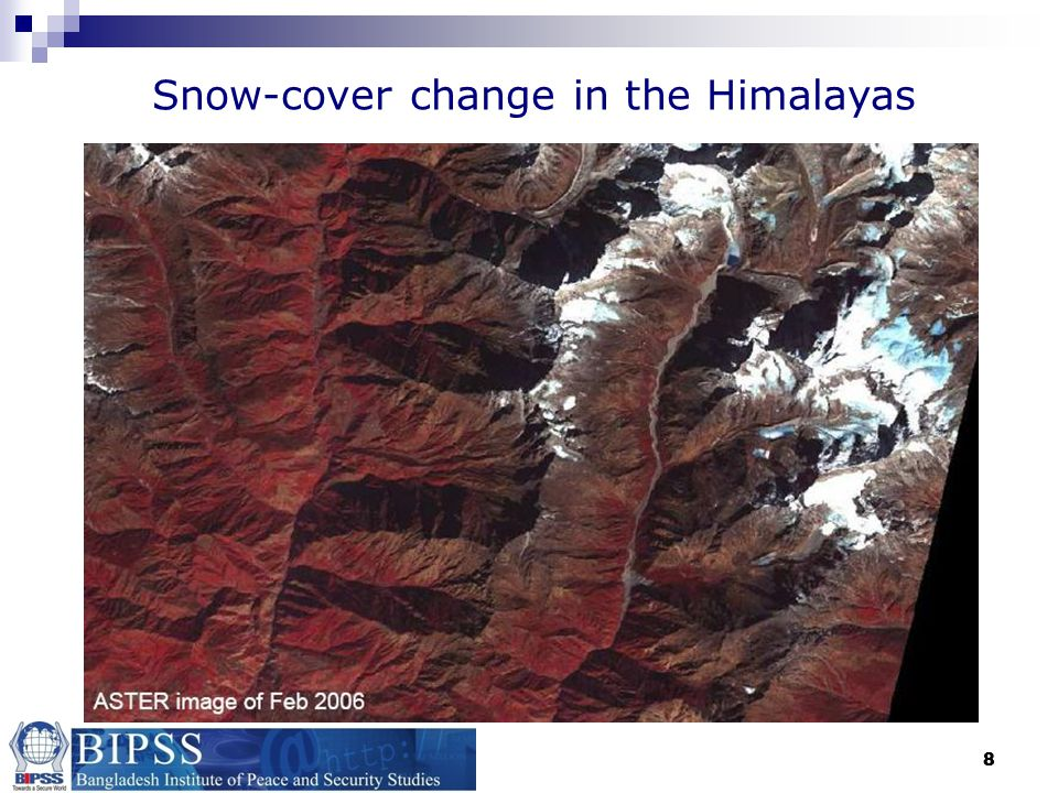 Snow-cover change in the Himalayas