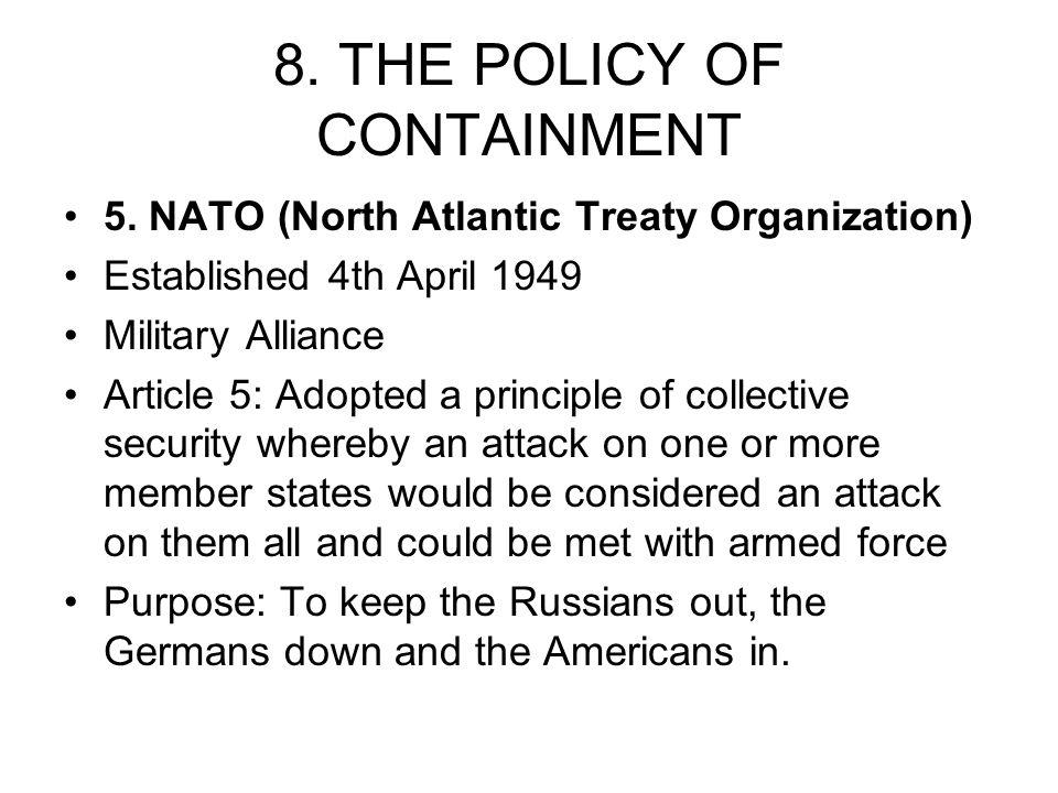 1  the cold war definition  a state of permanent hostility