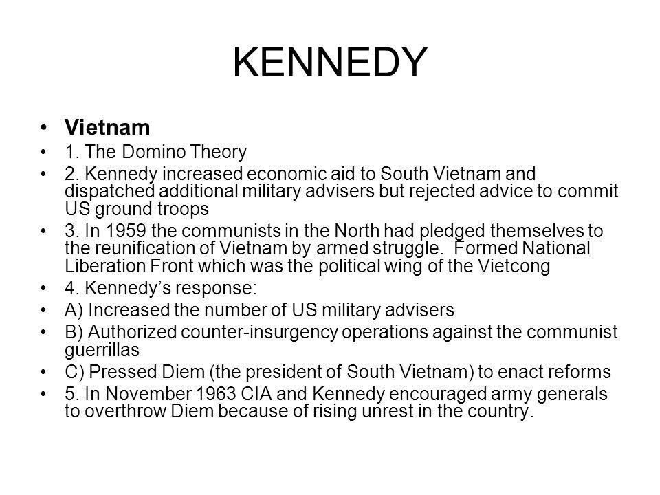 KENNEDY Vietnam 1. The Domino Theory