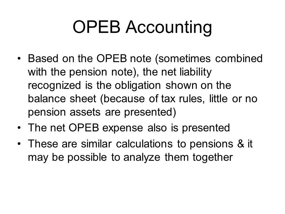 OPEB Accounting