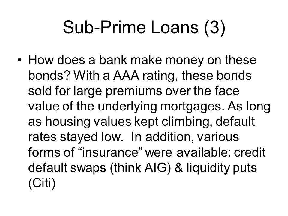 Sub-Prime Loans (3)