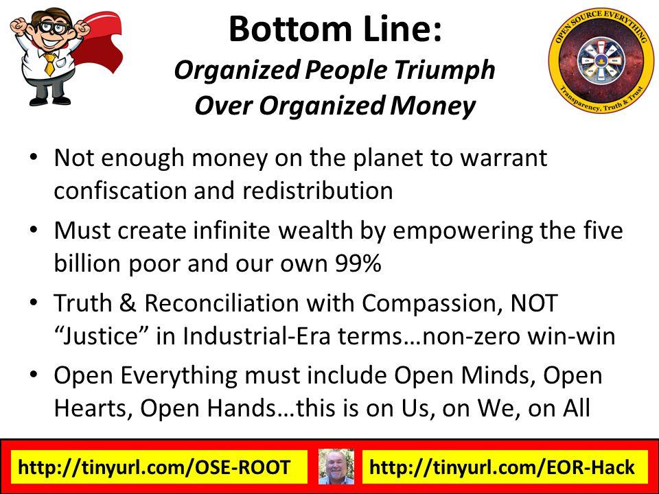 Bottom Line: Organized People Triumph Over Organized Money