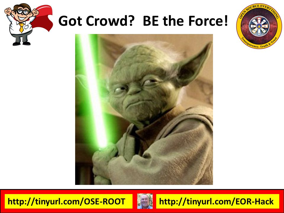 Got Crowd BE the Force!