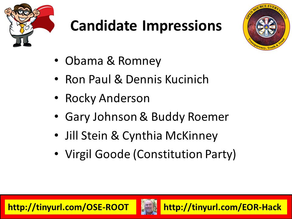 Candidate Impressions