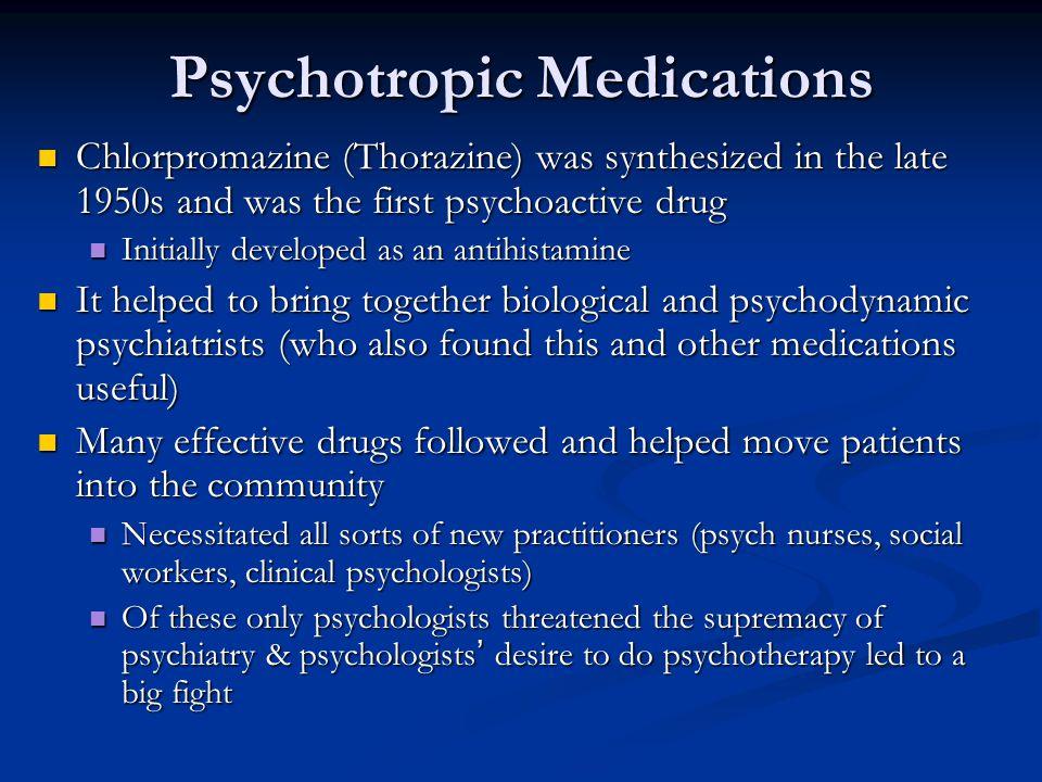 Psychotropic Medications