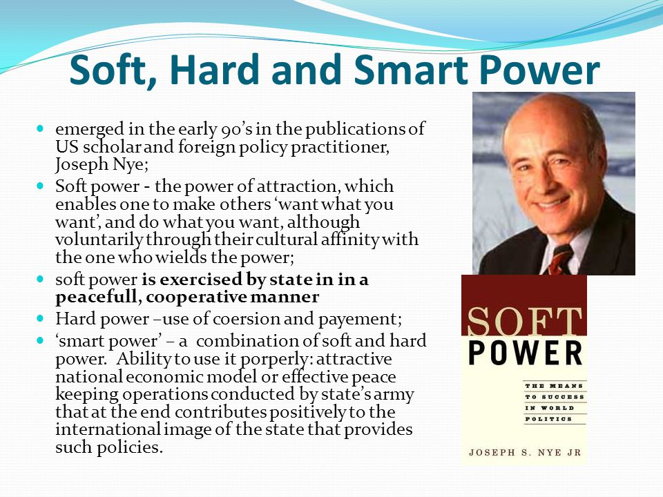 Difference Between Hard Power and Soft Power