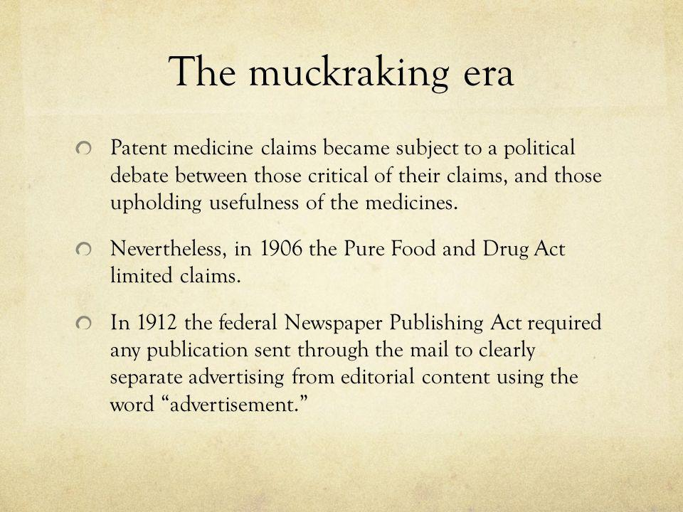 The muckraking era