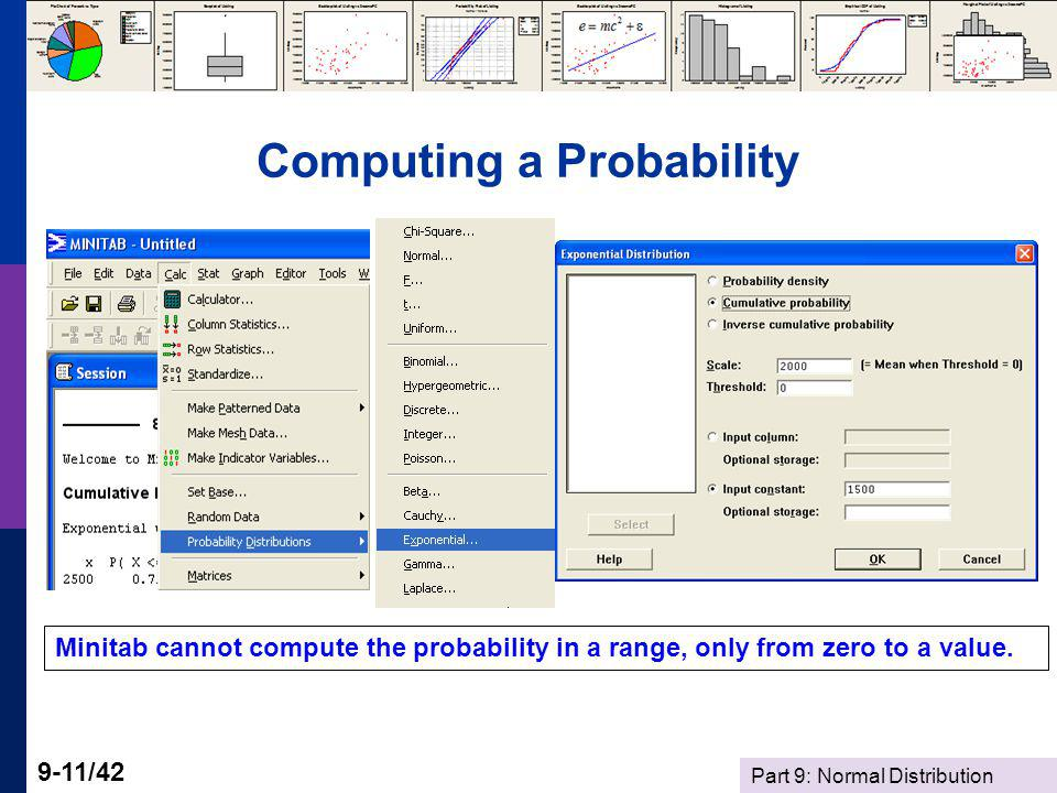 Computing a Probability