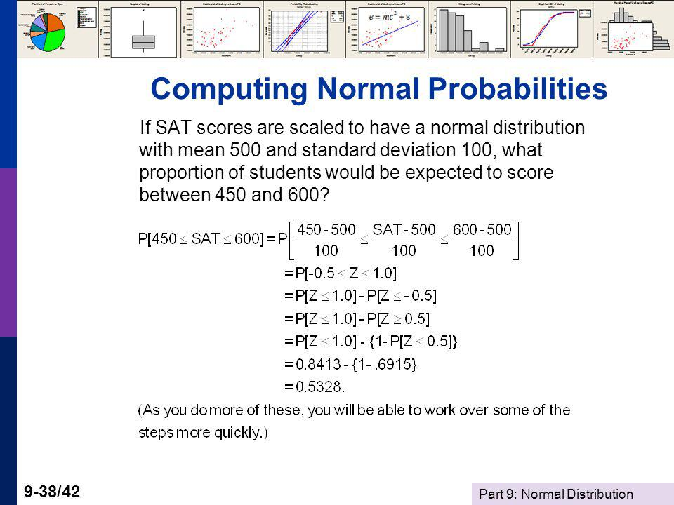 Computing Normal Probabilities