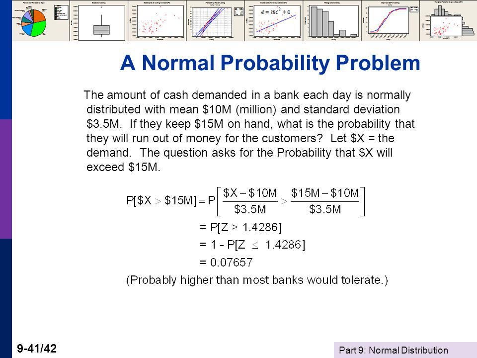 A Normal Probability Problem