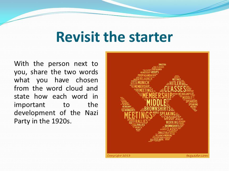 Revisit the starter