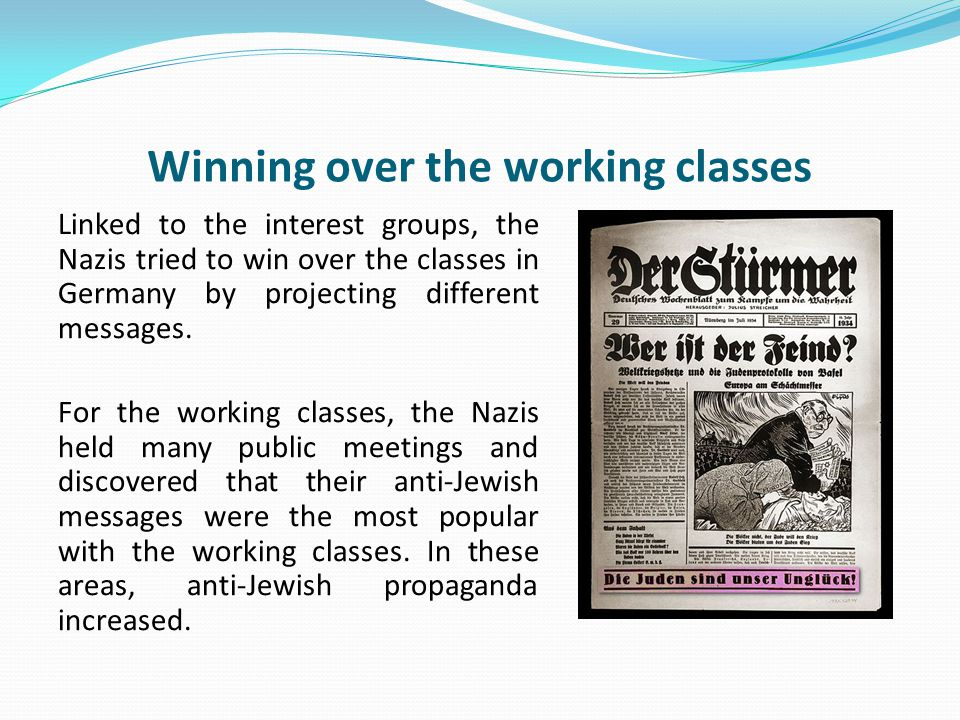 Winning over the working classes