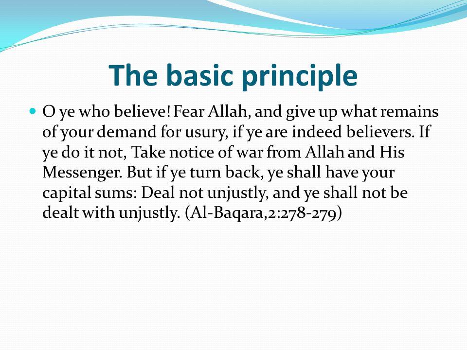 The basic principle