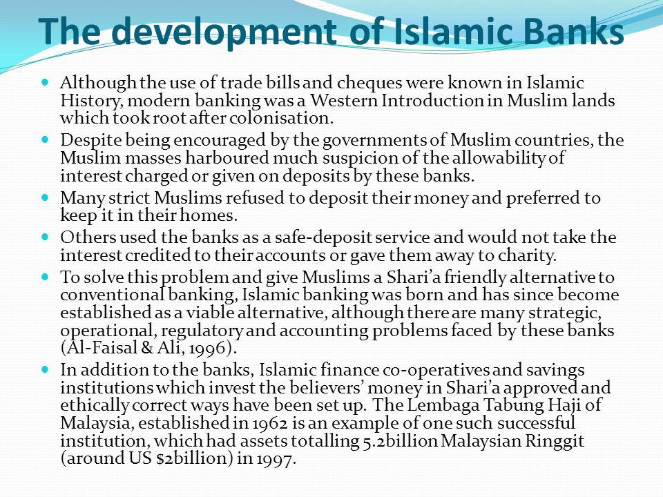 The development of Islamic Banks