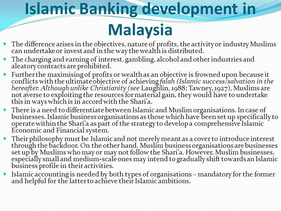 Islamic Banking development in Malaysia