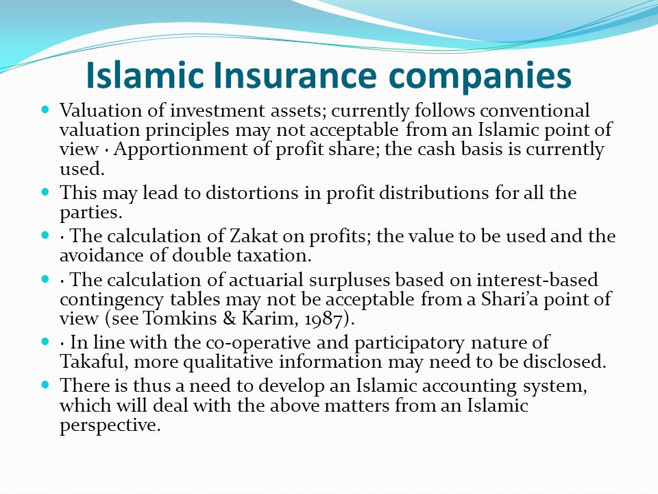 Accounting Basics And Principles Of Islamic Banking In